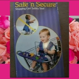 Shopping Cart Seat Cover by Safe 'n Secure